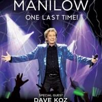 Barry Manilow to Bring ONE LAST TIME! Tour to Prudential Center, Barclays Center