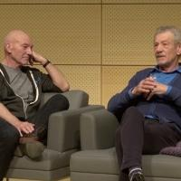 BWW TV Exclusive: Backstage with Richard Ridge- SAG Foundation Conversations Series with Ian McKellen & Patrick Stewart; Part 1