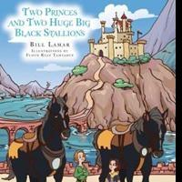 'Two Princes and Two Huge Big Black Stallions' Children's Book is Released