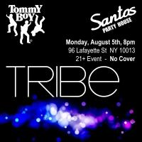 TommY BoY Stars to Come Together at Santos Party House, 8/5