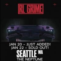 RL Grime Adds 1/20 Show at The Neptune; On Sale This Friday