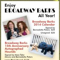 Broadway Barks 2014 Calendar & Merchandise Now Available