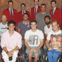Photo Flash: US Open Wheelchair Tennis Athletes Visit JERSEY BOYS