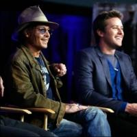 Photo Flash: Depp, Hammer Attend Walt Disney Studios' CinemaCon Presentation