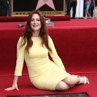 Photo Flash: 4-Time Oscar Nominee Julianne Moore Receives Star on Hollywood Walk of Fame