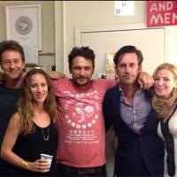 Photo Flash: Jon Hamm, Jennifer Westfeldt and Edward Norton Visit OF MICE AND MEN
