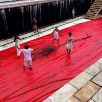 Activist Art Intervention Celebrates World Water Day by Brazilian Artist Ronald Duarte