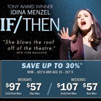 See IDINA MENZEL and save 30% on Broadway's most 'thrilling new musical'