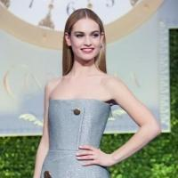 Photo Flash: Lily James & More Attend CINDERELLA London Premiere