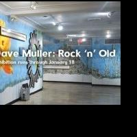 Funding Arts Broward Supports Dave Muller's ROCK 'N' OLD Exhibition in Hollywood