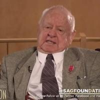SAG Foundation Shares 'Conversations with Mickey Rooney'