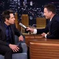 VIDEO: Ben Stiller & Jimmy Get Emotional During TONIGHT SHOW Interview