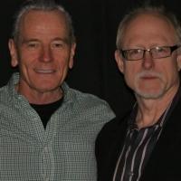 Photo Flash Exclusive: David Goodman Visits Bryan Cranston at Broadway's ALL THE WAY