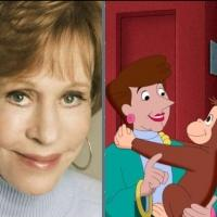 Carol Burnett to Guest Star in New CURIOUS GEORGE Episode, 2/10