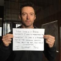 Hugh Jackman Shows Support for Imperiled Remote Australian Communities