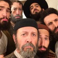 Photo Flash: Saturday Intermission Pics September 6- Part 2- FIDDLER ON THE ROOF Cast Shows Off Beards, and More!