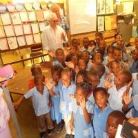 Air Supply's Graham Russell & Russell Hitchcock Visit Ill And Disadvantaged Children