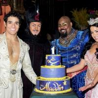 Photo Coverage: They Ain't Never Had a Year Like This- ALADDIN Celebrates One Year On Broadway
