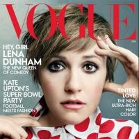 Photo Coverage: Lena Dunham's Vogue Cover