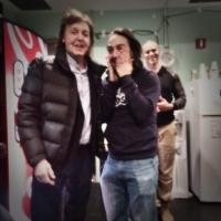 PHOTO: Paul McCartney Pays a Visit to Lin-Manuel Miranda & Cast of HAMILTON!
