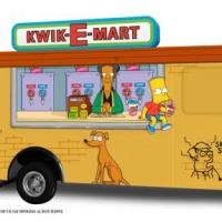 20th Century Fox & FXX Unveil THE SIMPSONS Kwik-E-Mart Truck!