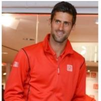 Novak Djokovic Visited UNIQLO 5th Avenue