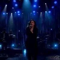 VIDEO: Jessie Ware Performs 'Say You Love Me' on LATE LATE SHOW