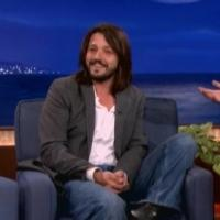VIDEO: Diego Luna Teaches Conan Survival Spanish on Tonight's CONAN