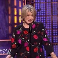 VIDEO: Preview Martha Stewart on Comedy Central's ROAST OF JUSTIN BIEBER