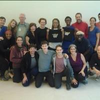 Photo Flash: Cast and Crew of Broadway's 'CURIOUS INCIDENT' Visit QSAC