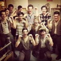 Photo Flash: Saturday Intermission Pics, March 9 - Andrew Keenan-Bolger's Last SIPs with NEWSIES, HANDS ON A HARDBODY and More!