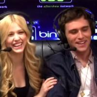 HAPPYLAND Stars Katherine McNamara & Cameron Moulene Appear on Maria Menounos' AfterBuzz TV