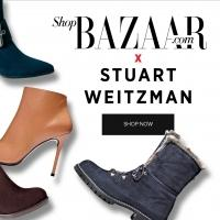 Harper's BAZAAR And Stuart Weitzman Collaborate Boot Capsule Collection
