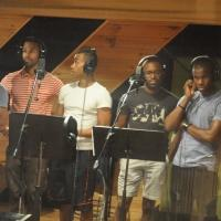 Exclusive Photo Coverage: Cast of THE LION KING Sings Carols For A Cure