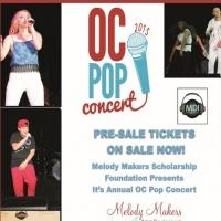 New Young Rising Stars will Rock the Melody Makers/MDI Annual OC Pop Concert 2015