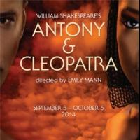 ANTONY AND CLEOPATRA, Starring Nicole Ari Parker and Esau Pritchett, Opens Tonight at the McCarter Theatre Center