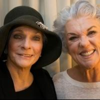 Photo Flash: Judy Collins Visits Tyne Daly at MOTHERS AND SONS