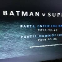 BATMAN V. SUPERMAN to be Split Into Two Films?