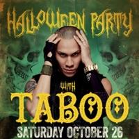 SHRINE Nightclub to Welcome Black Eyed Peas' Taboo, 10/26