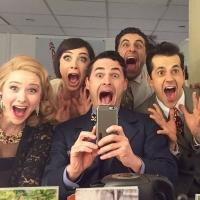 Photo Flash: Saturday Intermission Pics - 3/14 Part 2 - AN AMERICAN IN PARIS Cast Snaps First #SIP on Broadway, and More!