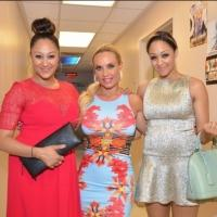 Photo Flash: Tia and Tamera Mowry Visit PEEPSHOW's Coco Austin