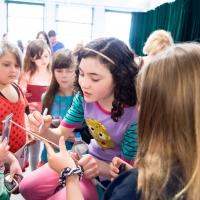 Photo Flash: Lilla Crawford Teaches ANNIE Workshop