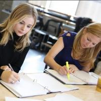 Photo Flash: In Rehearsal with Chloe Grace Moretz, Jennifer Westfeldt and More in THE LIBRARY at the Public
