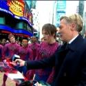 VIDEO: SPIDER-MAN Invades Times Square to Help Hurricane Victims