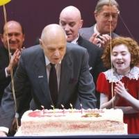 Photo Coverage: ANNIE Cast Celebrates Charles Strouse's 85th Birthday!