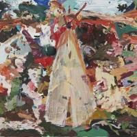 Maccarone to Display Cecily Brown's ENGLISH GARDEN Painting Exhibition, 5/9