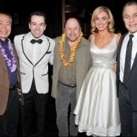 Photo Flash: George Takei, Jason Alexander and Bonnie Wright Get Lei'd at HONEYMOON IN VEGAS