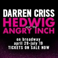 First Poster Revealed Announcing Darren Criss In HEDWIG & THE ANGRY INCH