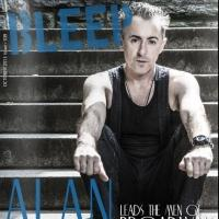 Photo Flash: Alan Cumming on the Cover of BLEEP Magazine's 'Men of Broadway' Issue; Talks CABARET and More!
