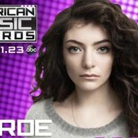 Lorde, One Direction and Fergie to Perform at 2014 AMERICAN MUSIC AWARDS